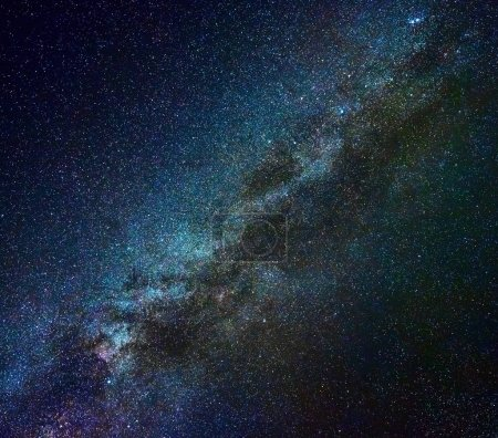 Milky Way galaxy in winter time, Northern hemisphere