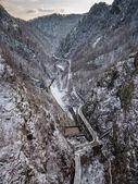"Постер, картина, фотообои ""Transfagarasan highway in Fagaras mountains, Romania"""
