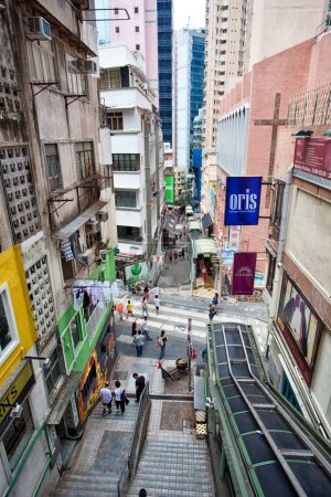 Hong Kong urban landscape at daytime