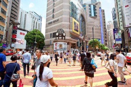 Hong Kong urban landscape at daytime