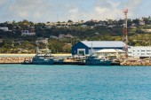 Two Coast Guard Cutters in Barbados