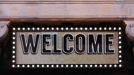 Big Welcome Sign