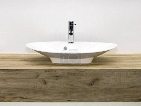 Ceramic Wash Sink in Bathroom