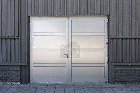 Double Silver Doors