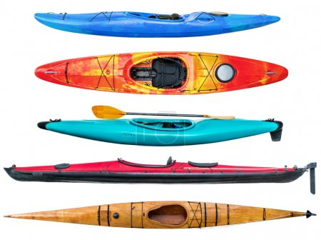 sea and whitewater kayaks collection