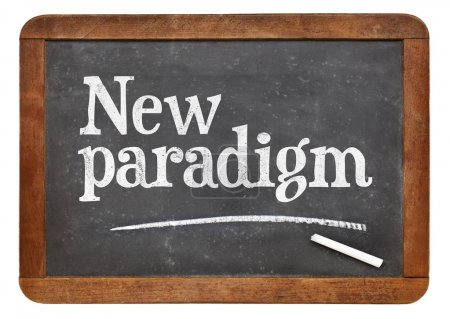 New paradigm blackboard sign