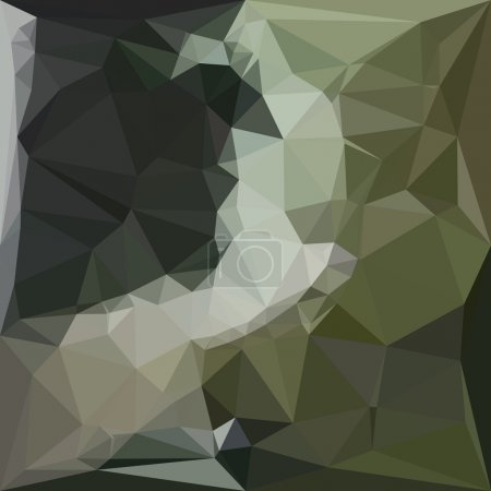 Dark Slate Gray Abstract Low Polygon Background