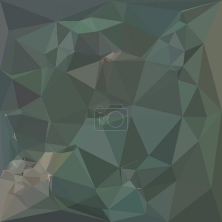 Light Sea Green Abstract Low Polygon Background