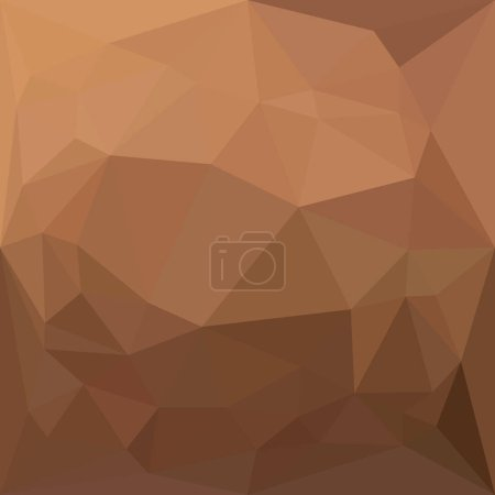 Burlywood Goldenrod Abstract Low Polygon Background