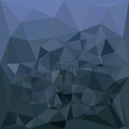 Medium Slate Blue Abstract Low Polygon Background