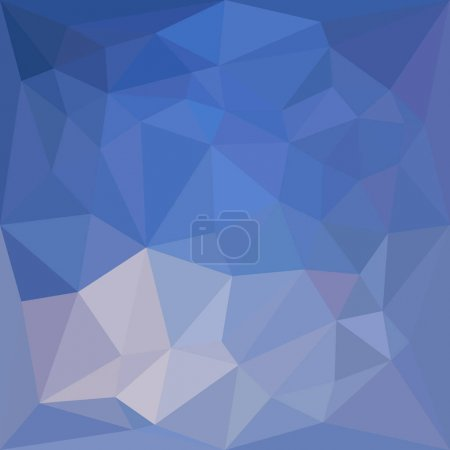 Powder Blue Abstract Low Polygon Background
