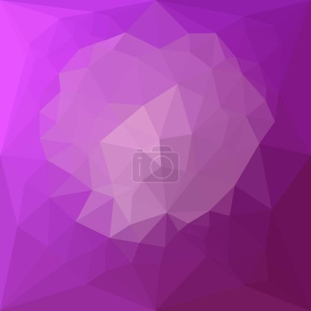 Eminence Violet Abstract Low Polygon Background