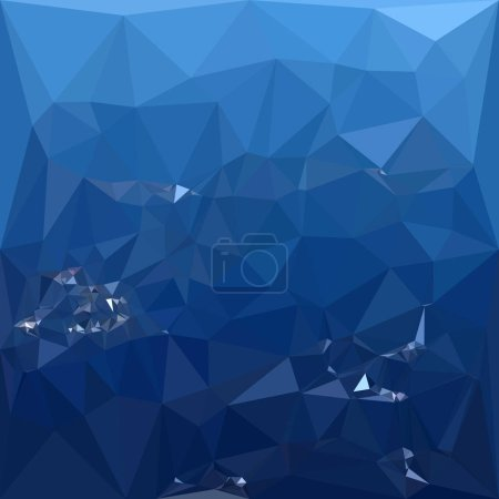 French Sky Blue Abstract Low Polygon Background