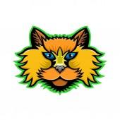 Selkirk Rex Cat Mascot