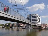 The Nesse bridge in Leer, Germany