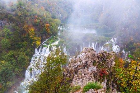 Wasserfälle, Plitvicer Nationalpark, Kroatien