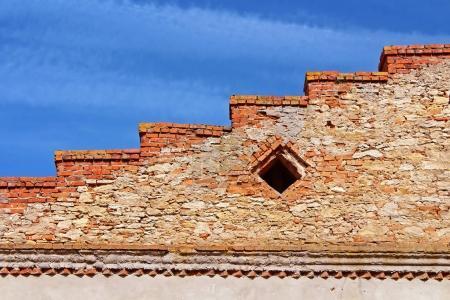 Wall of Medzhybizh castle, Ukraine