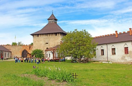 Medzhybizh castle, Ukraine. Medzhybizh Castle, built as a bulwark against Ottoman expansion in the 1540s, became one of the strongest fortresses of the Crown of the Kingdom of Poland in Podolia