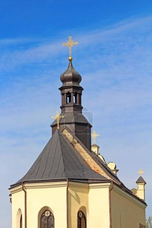 St.Nicholas Church in Medzhybizh castle, Ukraine