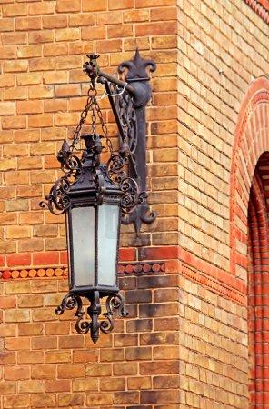 Lantern of residence of Bukovinian and Dalmatian Metropolitans, now part of Chernivtsi University. Yuriy Fedkovych Chernivtsi National University. Chernovtsi, Europe