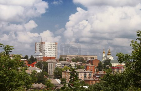 Cityscape of Vinnysia city in Ukraine, Europe