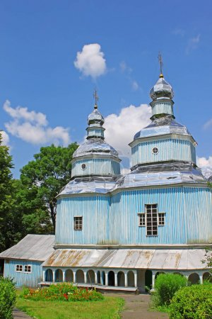 Wooden St. Nicholas Church (1746), Vinniytsia, Ukraine