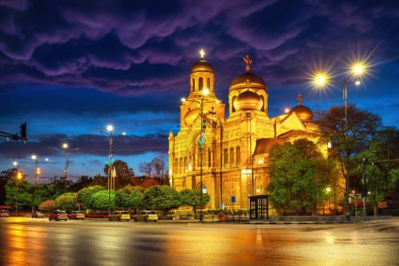Photo for The Cathedral of the Assumption in Varna - Royalty Free Image
