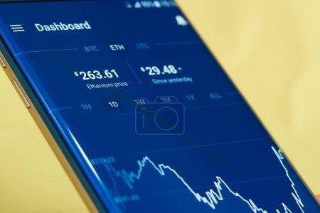 Ethereum cryptocurrency money