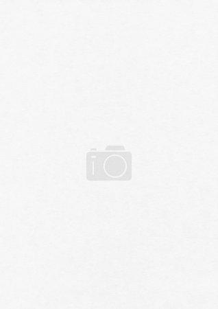 Photo pour Modèle de maquette de texture de feuille de papier blanc vierge - image libre de droit