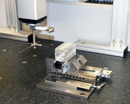 Metrology laboratory in a manufacturing company