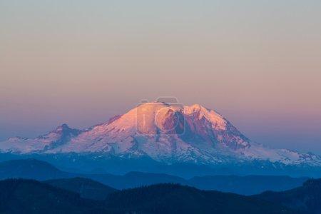 Mount Rainier in national park