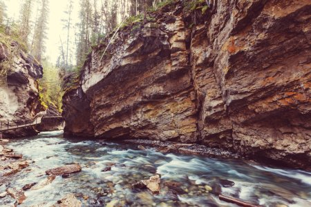 Johnston Canyon in Banff NP
