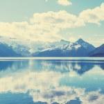 Turquoise waters of picturesque Garibaldi Lake nea...