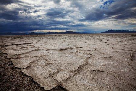 Salt desert in Utan