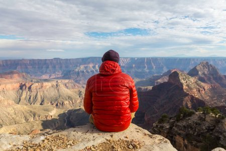 Photo for Hike in Grand Canyon National Park - Royalty Free Image