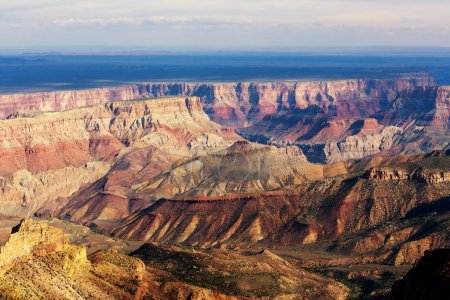 Picturesque landscapes of the Grand Canyon, beauti...