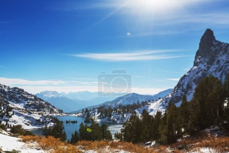 Photo for Sierra Nevada mountains, USA landmark - Royalty Free Image
