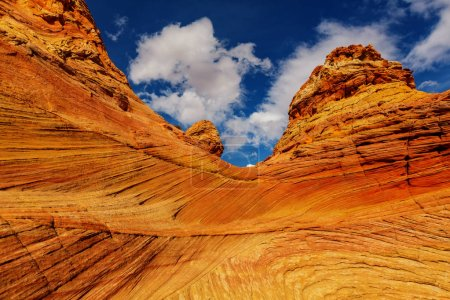 Sandstone formations in Utah