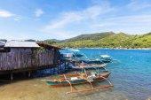 """Постер, картина, фотообои """"Традиционные лодки Филиппинский"""""""