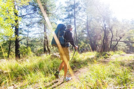 Hiking in famous Lycian Way