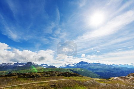 Picturesque Mountains of Alaska