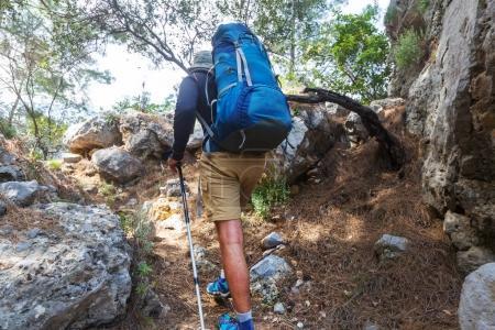 Hiking in famous Lycian Wa
