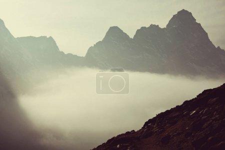 Mountains in Sagarmatha region