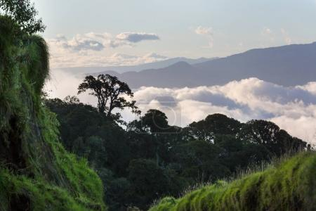 Beautiful mountains landscape in Costa Rica, Central America