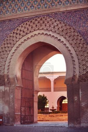 Medina wall door, Meknes, Morocco