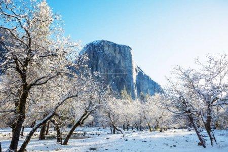 Photo pour Paysages magnifiques au début du printemps dans le Parc National de Yosemite, Yosemite, é.-u. - image libre de droit