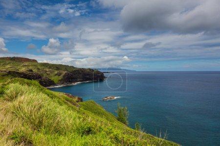 Beautiful tropical beach on Maui island, Hawaii