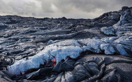 Kilauea Active Volcano on Big Island, Hawaii