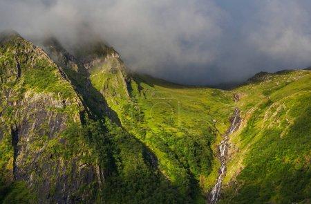 Photo pour Paysages pittoresques de la Norvège - image libre de droit