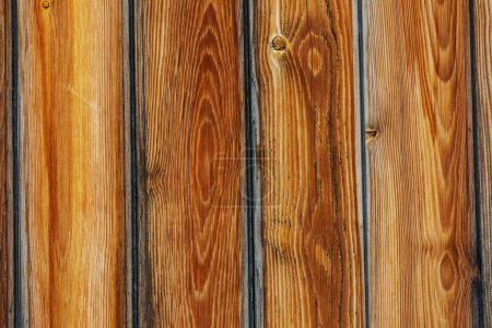 Photo for Brown wood texture background, wood planks - Royalty Free Image